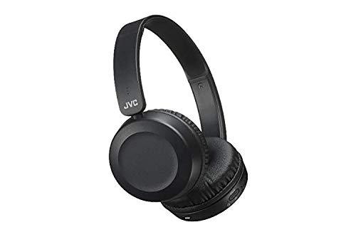 JVC HA-S31BT Mobiles Headset Binaural Kopfband Schwarz - Mobile Headsets (Kabellos, Kopfband, Binaural, Ohraufliegend, 20-20000 Hz, Schwarz)