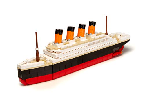 Brick Loot Titanic Building Bricks Set (Large 390 Pieces) 100% Compatible
