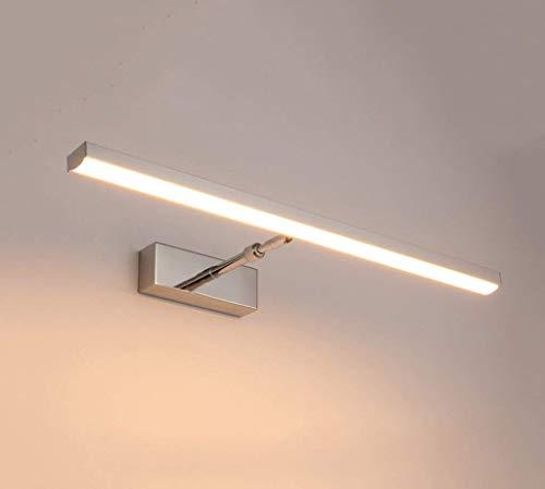 Carl Artbay Shuai Mooie lamp / * LED-spiegel-koplamp moderne roestvrij stalen intrekbare badkamerkast badkamerkast lampen wandlampen (grootte: 52cm)