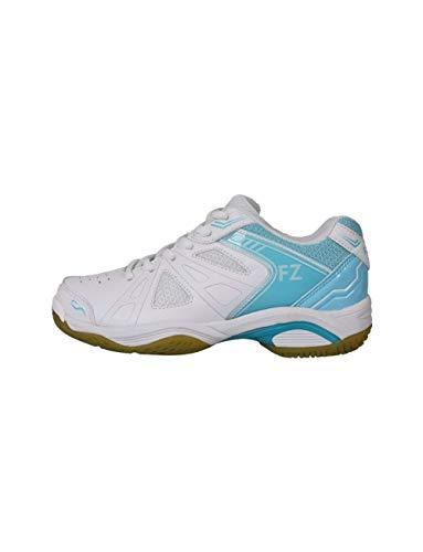 FZ Forza - Indoor Schuh Extremely - weiß/blau, für Damen - geeignet für Squash, Badminton, Tennis etc. - 38