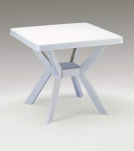 Franchi M257715-Table Carrée Nil 80 x 80 cm