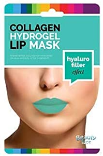 BEAUTY FACE - Collagen Lips Mask Hyaluro Filler - Lips and Contour Patch - Moisturizing, Volumizing effect