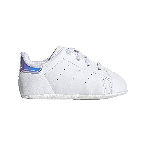 adidas Boy's Unisex Kids Stan Smith Crib Gymnastics Shoe, FTWR White FTWR White, 2 UK Child