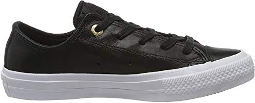 Converse Damen Chuck Taylor All Star II Craft OX Basketballschuhe, Schwarz, 37.5 EU