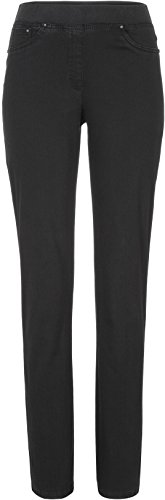 Raphaela by Brax Damen Style Pamina Super Dynamic Jeans, Black, 32W / 30L (Herstellergröße: 42 Kurzgröße)