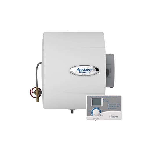 Aprilaire 400 Whole House Humidifier, Automatic Water Saver Furnace Humidifier