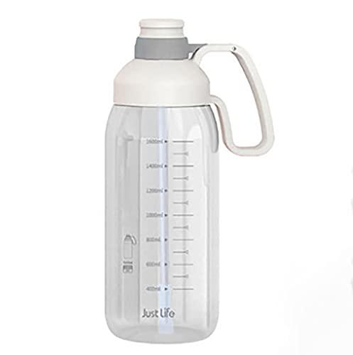 Nealpar Jarra de Agua/Botella de Gimnasio 1.8L - Sin BPA Ideal para Gimnasio, Dieta, Culturismo, Deportes al Aire Libre, Senderismo y Oficina,B