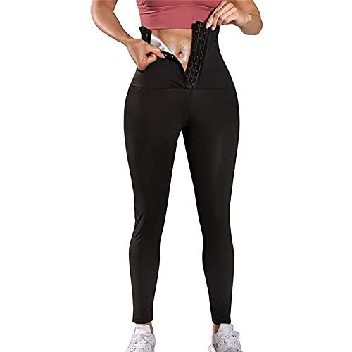 MFFACAI Pantaloni Sportivi da Donna Leggings Sportivi Collant Pantaloni da Allenamento Opachi Pantaloni da Yoga Leggins Sportivi per Il Tempo Libero Sportivo Fitness (Color : Black, Size : XL)