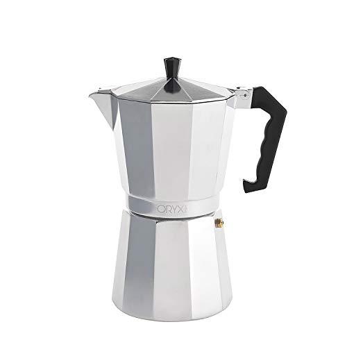 Oryx Espressokocher aus Aluminium 12 Tazas (600ml)