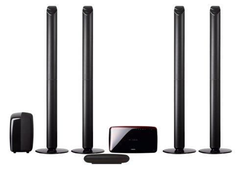 Samsung HT-TX 715 5.1 Heimkinosystem (Upscaler 1080p, 800 Watt, Bluetooth, HDMI™-Ausgang, USB 2.0) rubinschwarz