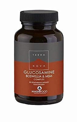 TERRANOVA Glucosamine Boswellia & MSM Complex - 100 Vegicaps