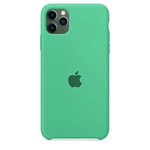 Capinha, Capa Silicone Case iPhone 11 Pro Max Verde Água