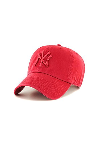 47 Brand MLB NY Yankees Clean Up Cap - Red