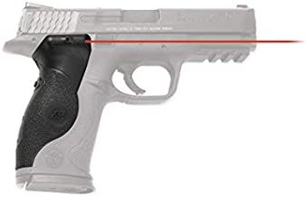 Crimson Trace LG-660 Lasergrips with Red Laser, Heavy Duty Construction and Instinctive Activation for Smith & Wesson M&P Full-Size Pistols, Defensive Shooting and Competition