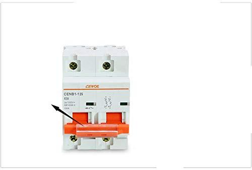 2P 1000V 63A 80A 100A 125A Disyuntor De Cc Fotovoltaico Para Protección Del Sistema De Energía Solar Componentes Importantes