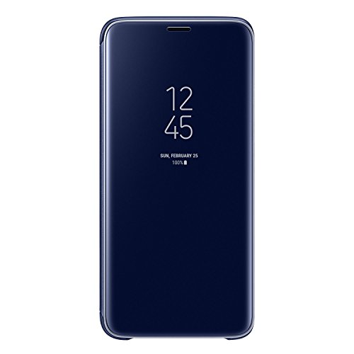 Galaxy S9 (5.8インチ)用 Clear View Standing Cover 【Galaxy純正 国内正規品】 ブラック EF-ZG960CBEGJP