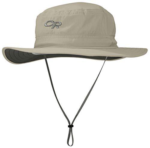 Outdoor Research Helios Sonnenhut Khaki Kopfumfang L | 59-60cm 2020 Kopfbedeckung