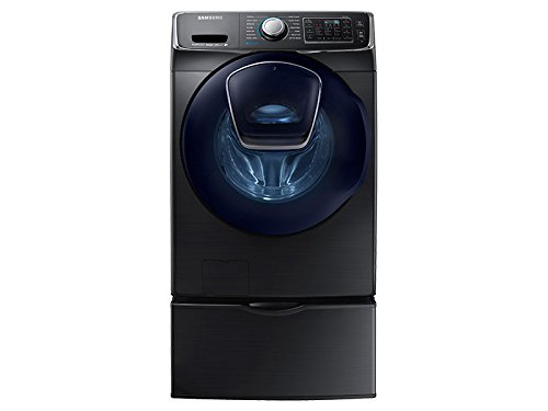 Samsung WF45K6500AV Front Load Washer with 4.5 cu. ft. Capacity, in Black Stainless Steel