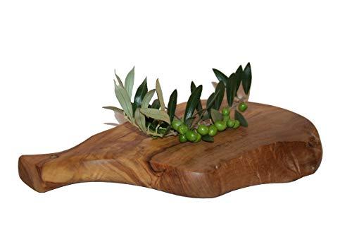 Tabla jamonero pequeño en madera de olivo