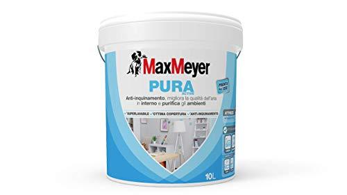 MaxMeyer Pittura  per interni Anti-inquinamento Pura Active BIANCO 10 L