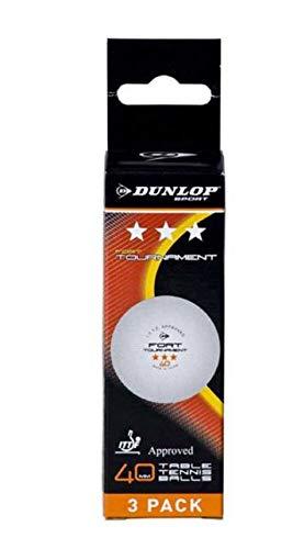 Dunlop Pelotas Tenis Mesa ITF Tournament 3 Bolas
