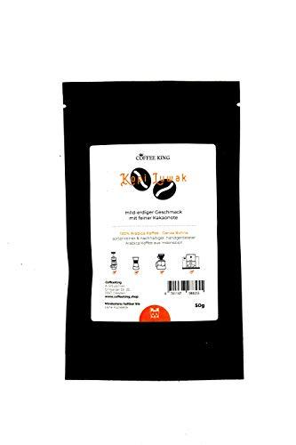 Kopi Luwak 100% Arabica Kaffee 50g (Katzenkaffee von frei lebenden Tieren) (50g Bohne)