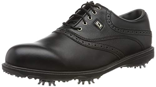 Footjoy Hydrolite 2.0, Chaussures de Golf Homme, Noir (Negro 50055w), 42.5 EU