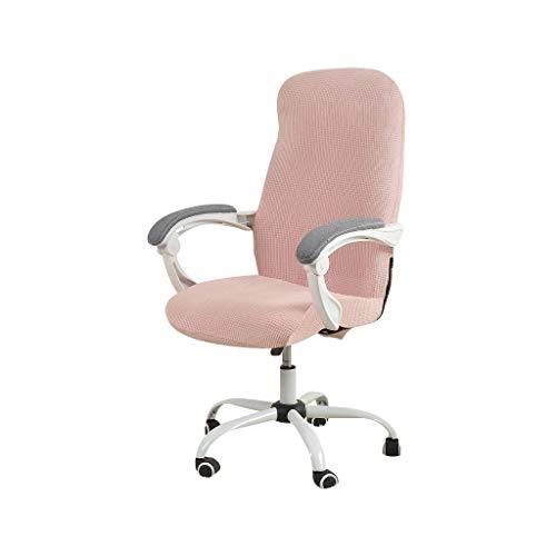 FORCHEER Bürostuhl bezug Bürostuhlabdeckung Stuhlhussen Drehstuhl Bezug Moderne Stuhl Überzug Sessel Cover Elastische Waschbar Stuhlhussen Set