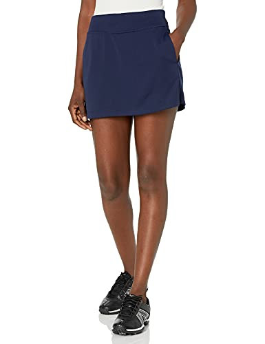 PGA TOUR Women's Petite Plus 16' Airflux Solid Knit Skort with Tummy Control