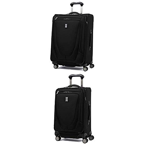 Why Should You Buy Travelpro Luggage Crew 11 25 Expandable Spinner Suitcase w/Suiter + 20 Carry-On...