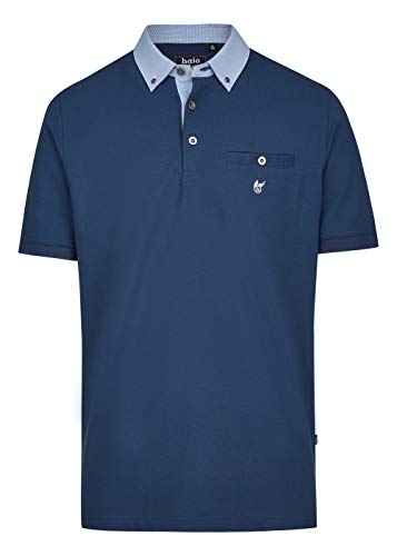 hajo Polo & Sportswear Herren Pikee-Poloshirt mit Button-Down-Kragen