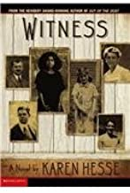 Witness by Karen Hesse (2003-03-01)