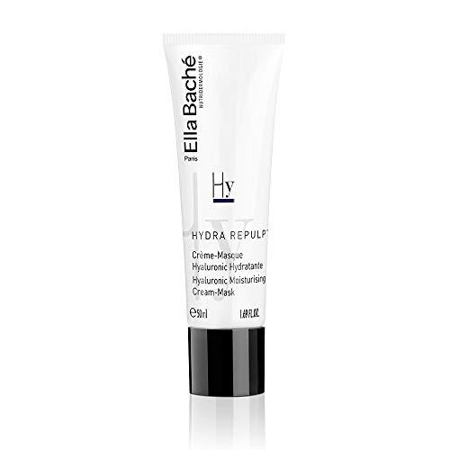Crème-Masque Hyaluronic Hydratante - Soin hydratant à l'acide hyaluronique, aux acides gras de rosier muscat et de karité - Peau ultra-hydratée : +81% d'hydratation après 2H - Made in France - 50ml