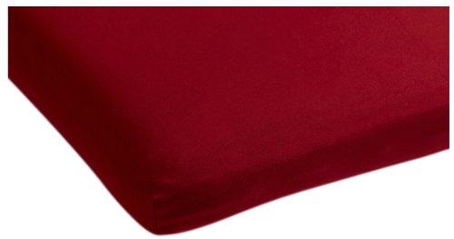 Beddinghouse Drap-Housse en Jersey pour surmatelas de lit articulé Rouge 180 x 200-210 cm