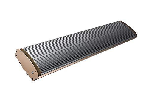 Jhheater Infrarrojo 3200 Panel de calefacción de infrarrojos de onda larga de 3200W Montaje separado o en el techo Suministrado con cable