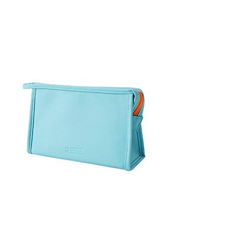 Sac cosmétique étanche Mode Femmes Voyage Lavage Stockage Multifonction Maquillage Sacs-Bleu_24 * 8 * 14 cm