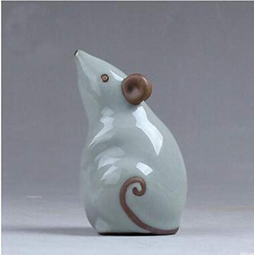 Boner oven cartoon muis paard en kip porselein thee huisdieren oolong thee accessoire, 1