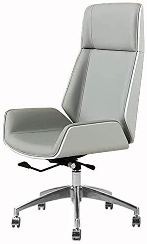 Silla de Oficina Ergonomica Inicio con respaldo alto Silla de estudio, silla de la oficina ejecutiva del ordenador, elegante silla del jefe, con respaldo medio,, giratoria de oficina Silla de escrit