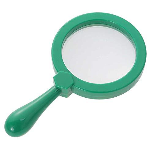 Toyvian Lupas de página para lupa portátil para crianças aprendendo, verde