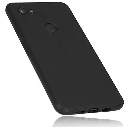 mumbi Hülle kompatibel mit Google Pixel 3a Handy Hülle Handyhülle, schwarz