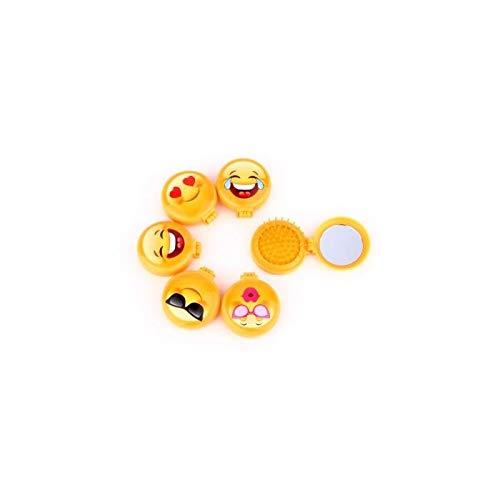Lote de 24 Cepillos Espejo Emoticonos - Detalles Originales Invitados de Bodas, Regalos para Comuniones y Cumpleaños ASIN: B07MYB4HLD