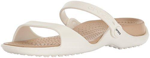crocs Women's Cleo Black Croslite Fashion Sandals - W7 Price in India