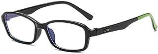 QINGZHOU - Gafas De Sol,Gafas Infantiles De Silicona Anti-Azul Con Gafas Planas