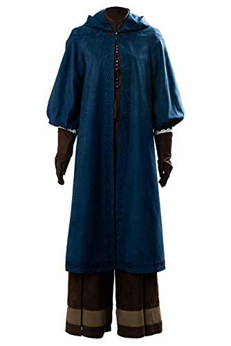 RedJade The Witcher Ciri Outfit Traje de Cosplay Disfraz Mujeres S