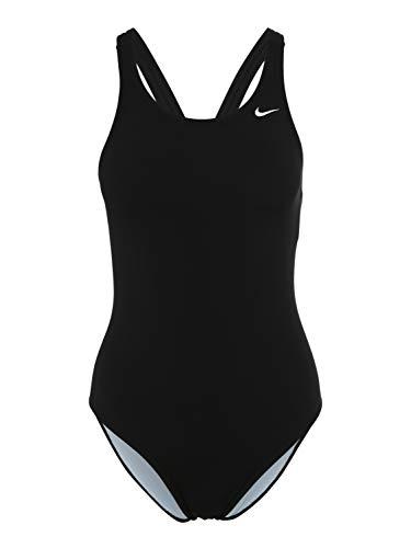 Nike Swim Poly Core Solid Fast Back Einteiler Damen Black Größe DE 40 | US 36 2019 Schwimmanzug