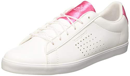LE COQ SPORTIF Agate, Baskets Femmes, Blanc (Optical White/Pink Carnation), 40 EU