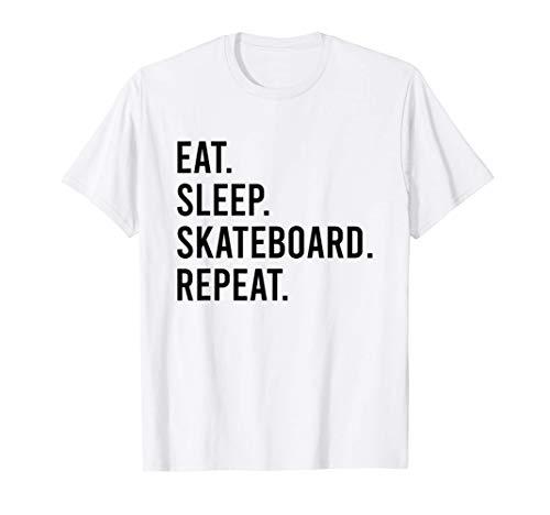 Eat Sleep Skateboard Repeat T-Shirt