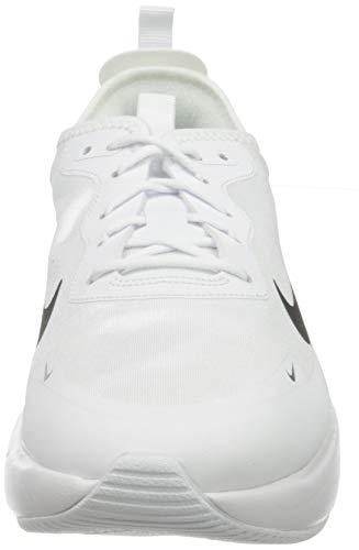 Nike W Air MAX Dia, Zapatilla de Correr Mujer, Blanco/Negro, 41 EU