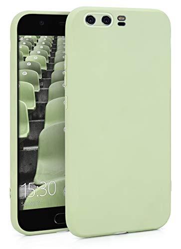MyGadget Coque Silicone pour Huawei P10- TPU Case - Housse Protection - Bumper Étui Flexible & Léger Anti Choc et Rayures - Vert Menthe