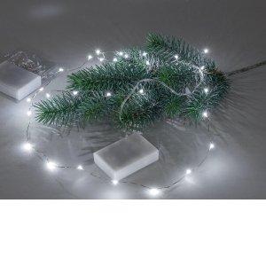 Lichterkette LED 30 LED-Lämpchen Weihnachten Deko